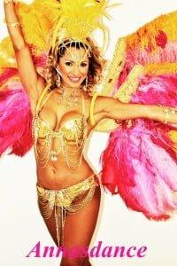 אנהסליה דה סילבה - רקדנית ברזילאית