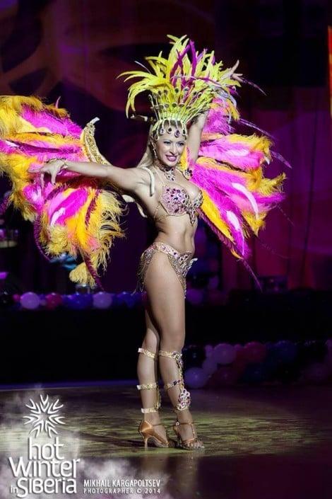 אנסדאנס רקדניות סמבה ברזילאיות לאירועים