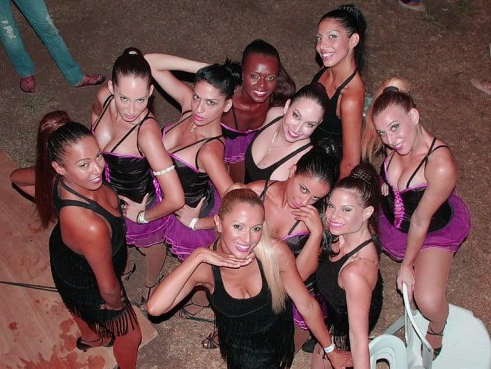 אנסדאנס רקדניות לאירועים