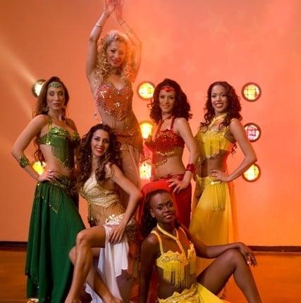 רקדניות בטן - להקת AnnasDance - ריקודי בטן
