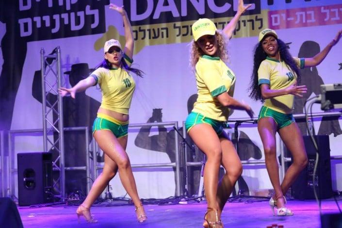 ריקודי שורות AXE BAHIA להקת אנס דאנס
