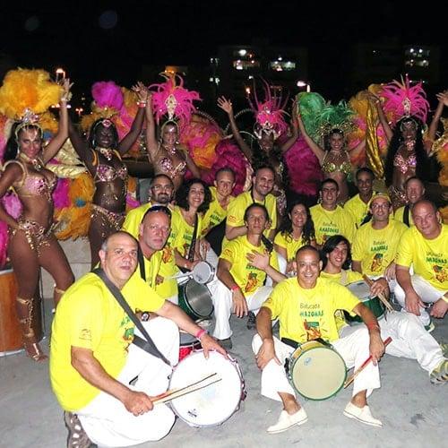 בטוקדה - להקת מתופפים ברזילאיים