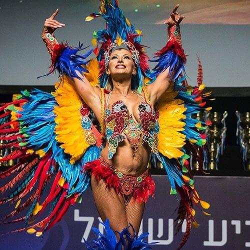 רקדניות ברזילאיות אנסדאנס